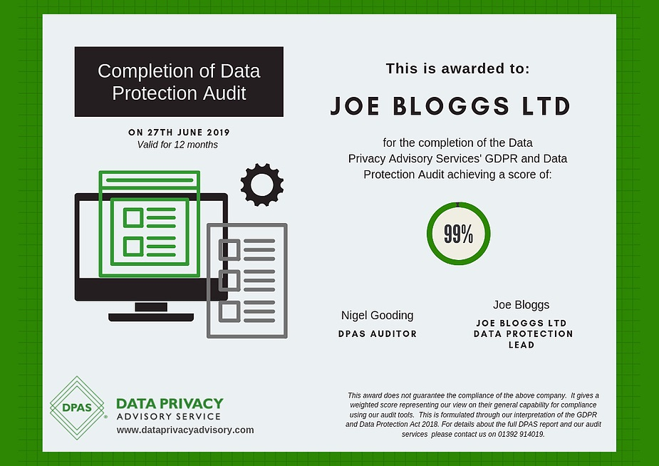 data protection audits